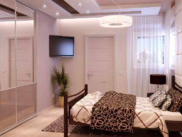 Красивая современная спальня