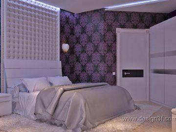 Дизайн спальни в современной стилистике