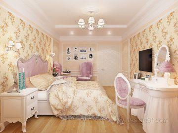 Дизайн интерьера спальни стиль классика