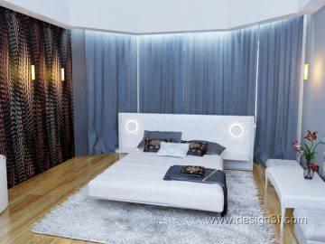 Современный стиль в интерьере спальни