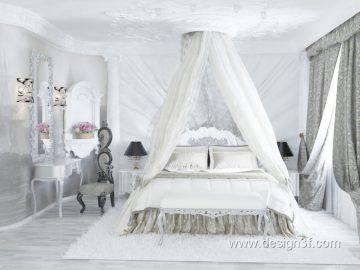 Роскошная спальня в венецианском стиле