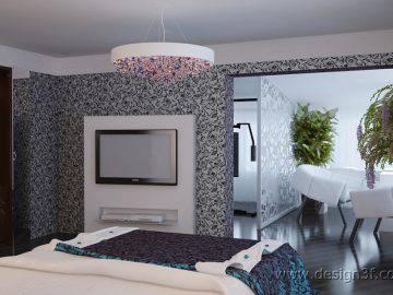 Спальня дизайн в современном стиле