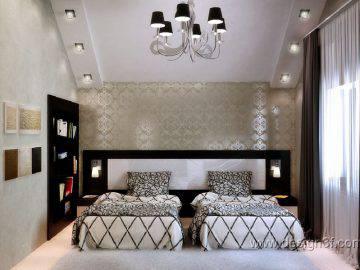 Спальня для гостей в доме