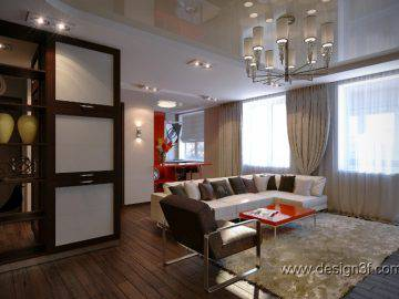 Интерьер квартиры 50 кв м