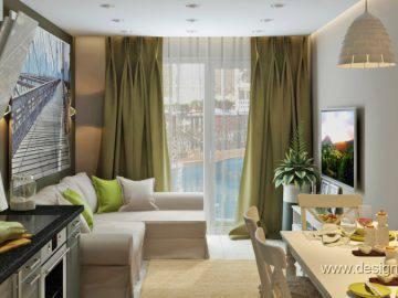 Интерьер квартиры в стиле Икеа