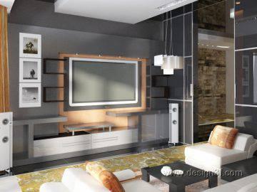 Современные идеи в дизайне интерьера гостиной