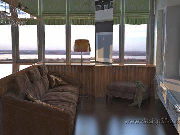Современный дизайн кухни гостиной в квартире