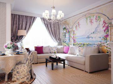 Стиль классика в интерьере гостиной