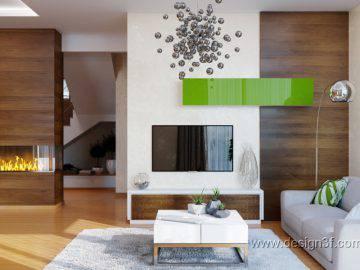 Современный интерьер дома