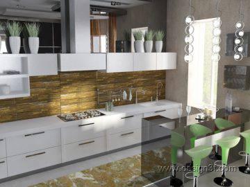 Современная кухня в стиле минимализм