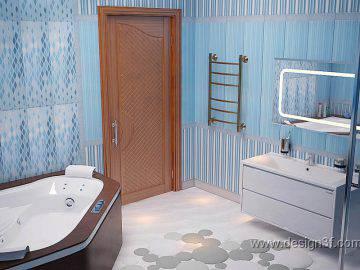 Ванная комната  морской стиль