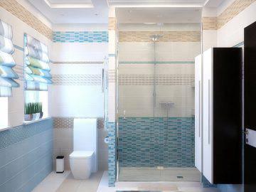 Большая ванная в доме