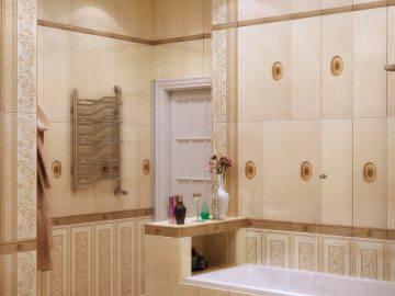 Дизайн ванной комнаты в классическом стиле
