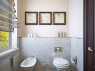 Дизайн ванной комнаты в шоколадных тонах