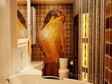 Дизайн интерьера квартиры в коричневых тонах