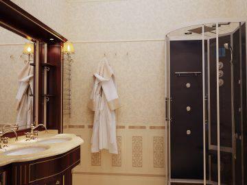 3 d проект ванной комнаты