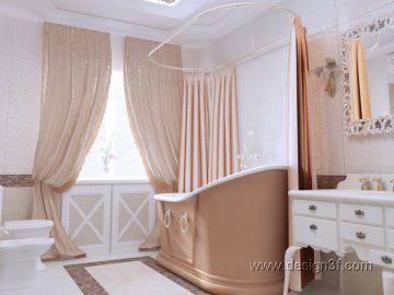 Интерьер ванной в итальянском стиле