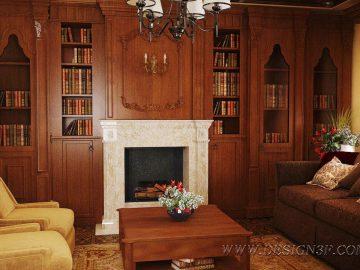 Интерьер дома в английском стиле
