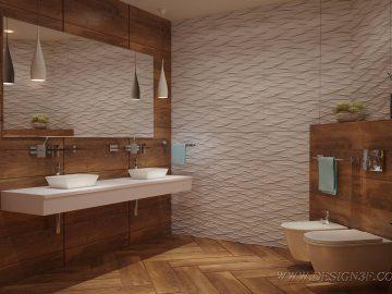 Элегантный дизайн интерьера в теплых тонах