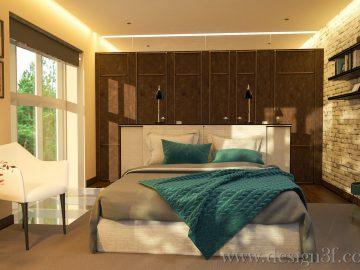 Винтажный стиль в интерьере спальни