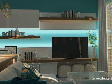 Интерьер квартиры 50 м2