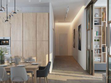 Интерьер современного дома 120 м2
